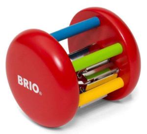 Bjældeskralde, legetøj til babayer, lærerigt legetøj, Brio legetøj