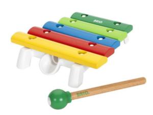 gaver til 1 årig, gaver til små børn, Brio Xylofon, musik instrumenter til børn,