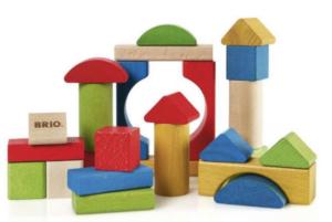 Bjældeskralde, legetøj til babayer, lærerigt legetøj, Brio legetøj, Brio klodser, klodser fra Brio