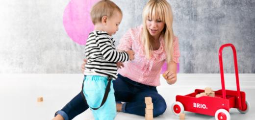 brio legetøj, gåvogn til børn, gåvogn fra brio, legetøj fra brio