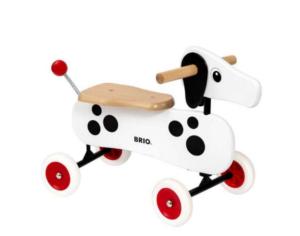 Ride on Gravhund,  Brio Gravhund, gyngehest fra Brio, Brio gyngehest