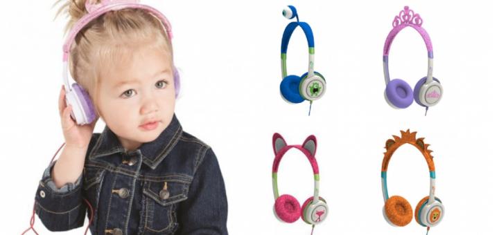hovedtelefoner til børn, høretelefoner til børn, sjove hovedtelefoner til børn, julegaver til børn, gaver til børn, musik til børn
