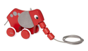 Brio elefant, elefant fra Brio, Brio legetøjs, Brio trækkedyr