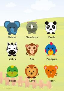 Zoo-dyr-gratis-børneplakat
