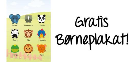 gratis-børneplakat-børneværelset-zoo-dyr