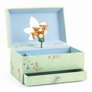 Smykkeskrin Bambi, Bambi smykkeskrin, smykkeskrin til piger, smykkebox til piger