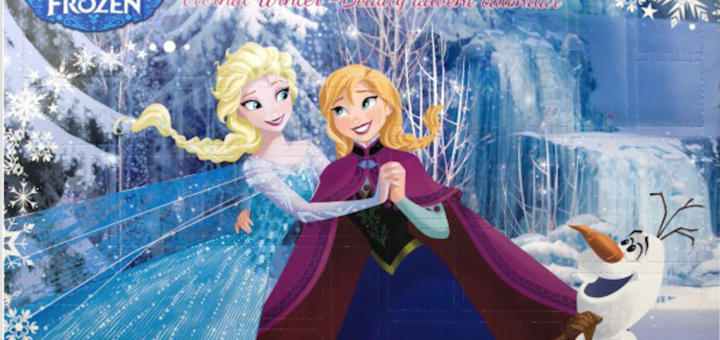julekalender med frost, frost julekalender, frozen julekalender, pakkekalender med frost, elsa julekalender, anna julekalender, disney julekalender