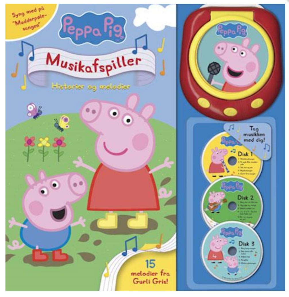 Gurli gris, Gurli gris sangbog, sangbøger til børn, sangbog til børn, klassiske sangbøger, de små synger, bøger med sange til børn, bog og ide sangbog, sangbog bog og ide, kendte børnesange, kendte børnesangbøger