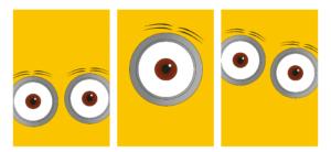 gratis-børneplakat-børneværelset-gule-øjn