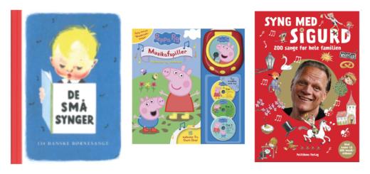 sangbøger til børn, sangbog til børn, klassiske sangbøger, de små synger, bøger med sange til børn, bog og ide sangbog, sangbog bog og ide, kendte børnesange, kendte børnesangbøger