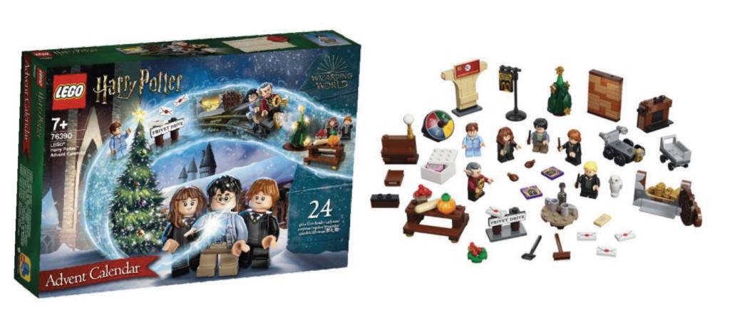Lego Harry potter julekalender, julekalender med lego harry potter, LEGO julekalender 2021, Harry Potter julekalender 2021, Julekalender til piger 2021, julekalender til drenge 2021