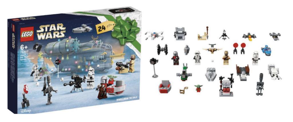 Star Wars Lego julekalender 2021, Julekalender med LEGO star Wars, Star Wars julekalender, julekalender til drenge, drenge julekalender 2021, Lego julekalender til drenge