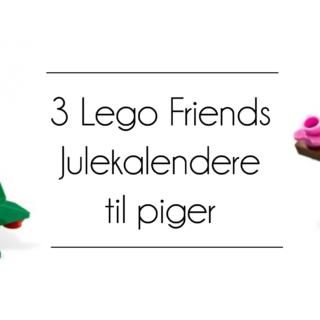 Lego Friends julekalender, lego julekalender, julekalender til piger, lego julekalender til piger