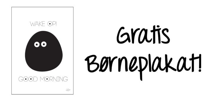 gratis-boerneplakat-boernevaerelset-good-morning