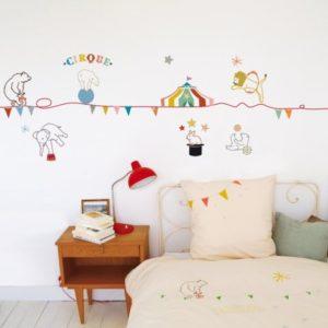 wallsticker, gaver til 2 årige, gaver til 2 årige piger, gaver til små piger, wallstickers børneværelset