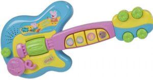 gurli gris elektrisk guitar, elektrisk guitar til børn, børne elektrisk guitar, gaver til 2 årige