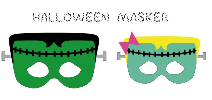 udklædningsmasker, fastelavnsmasker, halloweenmaker, masker til fastelavn, udklædningsmasker, makser til udklædning, gratis masker, gratis fastelavnsmasker, gratis masker til fastelavn, gratis halloween masker, gratis masker til halloween, frankenstein maske, maske med frankenstein, frankenstein pige, pige frankenstein