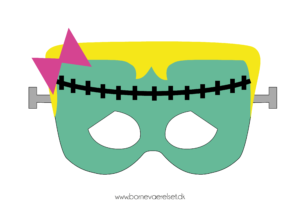 Pige-frankenstein-maske-halloween-gratis-01