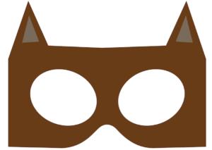 print-selv-Katte-brun-maske-børneværelset-fastelavn-01
