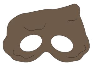 print-selv-monster-maske-børneværelset-fastelavn