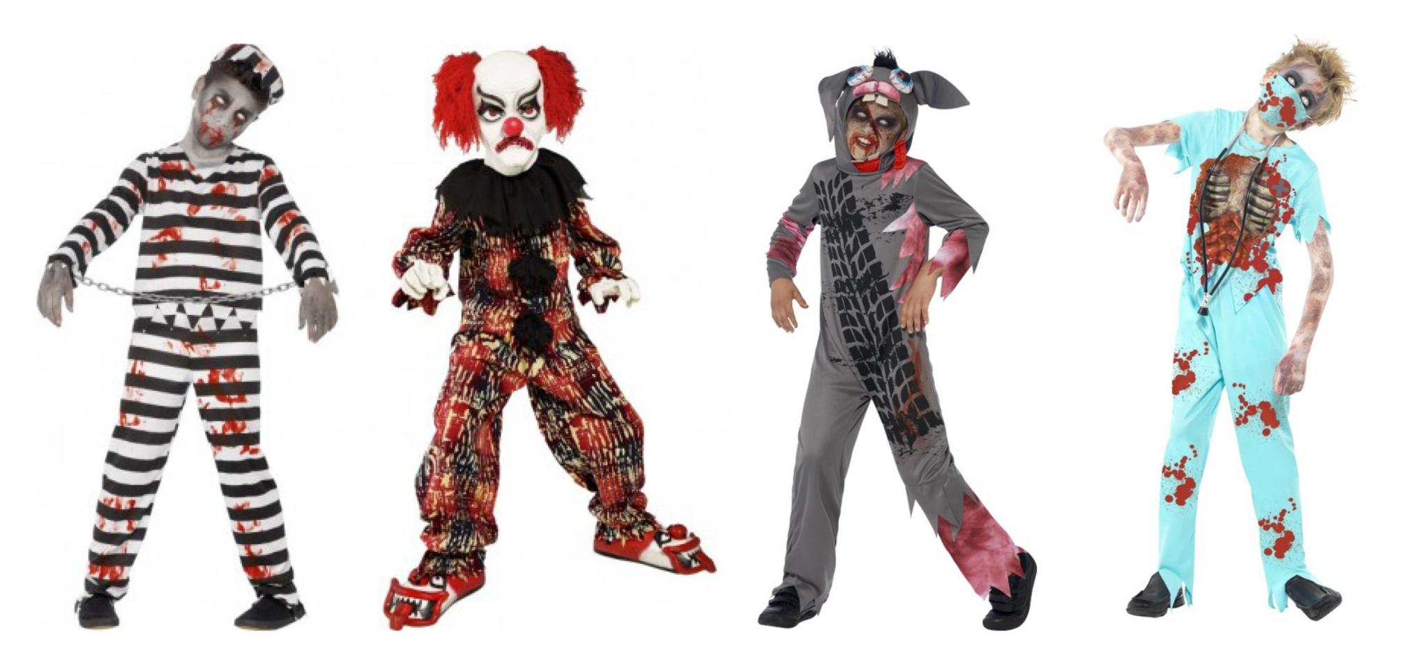 Zombie kostume, zombie kostumer til piger, børne zombie kostumer, kostumer til børn, halloween kostumer til børn,