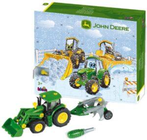 John Deer julekalender, juleklaender med traktor, anderledes julekalendere til drenge, julekalendere til drenge 2019