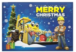 byggemand bob julekalender, julekalendere til drenge i 2021, drenge julekalendere, julekalender med byggemand bob,