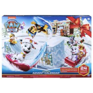 Paw patrol julekalender, julekalender med paw patrol, julekalender til børn, julekalender med hunde, julekalender til de mindste