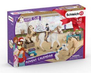 Schleich Julekalender Heste, feste julekalender, julekalender med heste, hest julekalender, hest adventskalender, adventskalender med heste, julekalender til piger, julekalender til små piger, adventskalender til piger, 25 julekalendere til piger