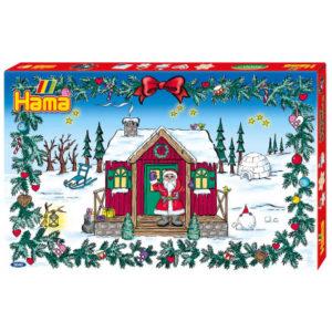 hama julekalender, julekalender med hama perler, perler julekalender, advents kalender med hama perler, kreative julekalendere, kreative julekalendere til børn, julekalendere 2018