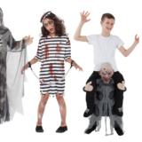 halloween kostume til børn, populære halloween kostumer til børn, børne halloween kostumer, skelet kostume til halloween, drenge kostume til halloween, halloween 2018, halloween 2019, fjollet halloween kostume til børn, manden med leen,