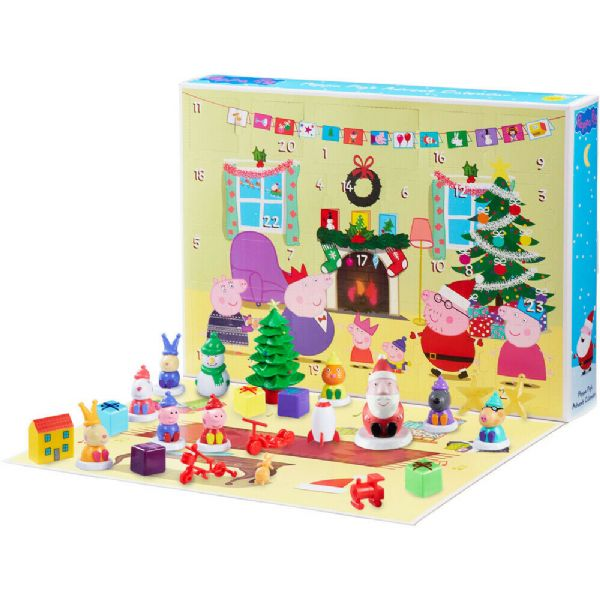 gurli gris julekalender, julekalender med gurli gris, julekalender til piger, julekalender til piger med gurli gris