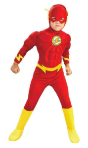 Flash kostume, the flash kostumer, fastelavns kostumer til drenge, Superhelte kostumer, billige superhelte kostumer,