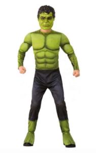 Hulk kostume, Hulk udklædning, udklædning med Hulk, Fastelavn Hulk, superhelte kostume, superhelte udklædning