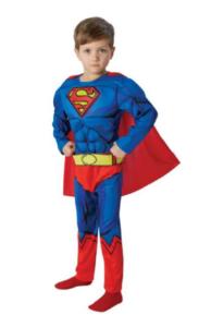 superhelte kostume til drenge, superman, superman kostume til drenge, superhelte kostume til børn, superhelte udklædning, udklædning med superman, superman udklædning, Fastelavns udklædning drenge,