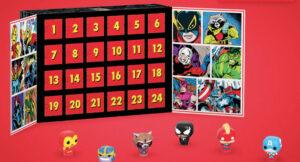 Marvel julekalender, Funk pop marvel julekalender, julekalender funk pop, julekalender til drenge 2019, julekalender med superhelte 2019, Julekalender med Marvel 2019