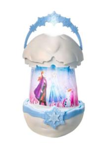 Disney lampe, Disney Natlampe, Frozen lampe, Frozen natlampe, lampe med Elsa og Anna, Natlampe med Frost, Frost lampe