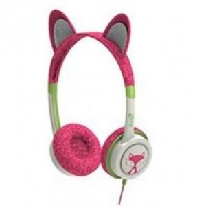 Katte hovedtelefoner, katteøre høretelefoner, sjove hovedtelefoner til piger, høretelefoner med katteøre