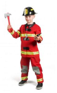 bransman kostume, brandman fastelavns kostume, fastelavns kostumer itl under 200 kr, billige fastelavnskostumer, Kostume af brandmand
