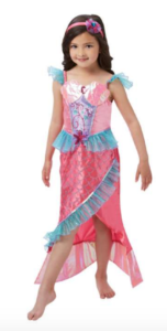 havfrue kostume, havfrue prinsesse kostume, kostume med havfrue, prinsesse havfrue kostume
