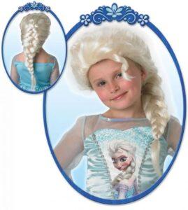 Frost 2 paryk, Elsa paryk, Frost elsa paryk, Elsa paryk, udklædning frost elsa, kostumer med elsa