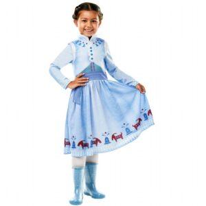 Anne frost kjole, Frost 2 kjole, Frost 2 udklædning, Anna udklædning, Frost anna kostume, kostumer fra frost, kostumer med Anna