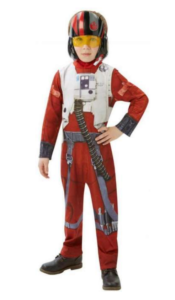Xwing Fighter Pilot, Star Wars Fastelavnstøj, Star Wars Udklædning