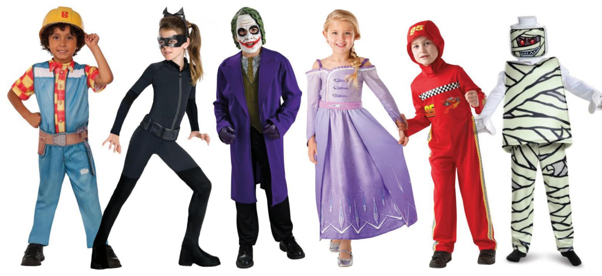 populære kostumer