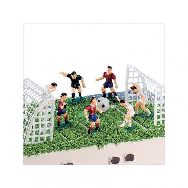 Fodbold kage, Fc barcelona kage, fodbold kage med fc barcelona, real madrid kage, fodboldkage med real madrid,