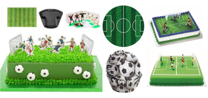 Fodbold kage, fodbold kage tilbehør, sådan laver du en fodhold kage, alt til fodbold fødselsdag, tilbehør til fodbold fødselsdag, fødselsdag fodbold, fødselsdag med fodbold tema