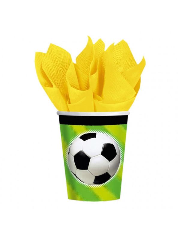 fodbold kopper, fodbold krus, fodbold fødselsdag, borddækning til fodbold fødselsdag, borddækning til fødselsdag, fødselsdag med fodbold tema,