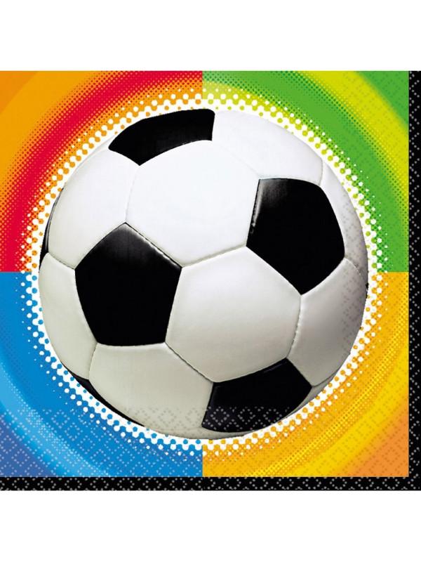 fodbold servietter, fodbold service, fodbold fødselsdag, borddækning til fodbold fødselsdag, borddækning til fødselsdag, fødselsdag med fodbold tema,