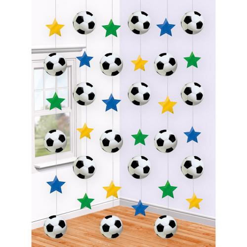 fodbold spiral, fodbold oppytning, pynt med fodbold motiver, fodbold fødselsdag, borddækning til fodbold fødselsdag, borddækning til fødselsdag, fødselsdag med fodbold tema,