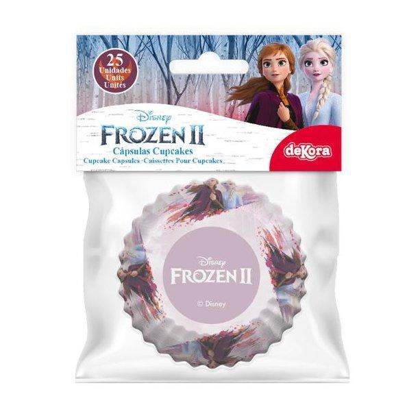 Frost muffinsforme, muffinsforme med frost motiv, Frost 2 cupcakes, Frost kager til fødselsdagen, Cupcake forme med Frost 2, Cupcake forme med Frozen 2